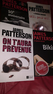4 romans James Patterson