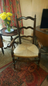 19 cent elbow chair