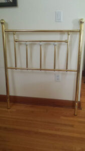 Brass single Headboard