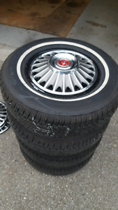 1967 Ford Mustang rims and tires