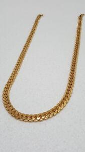 18K Gold PVD Miami Cuban Chain