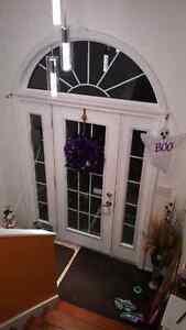 Steel Door with side lights