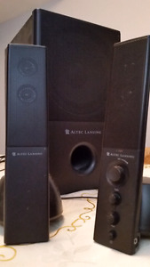Altec Lansing - Powerful PC Sound System - Impressive Bass!
