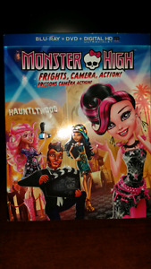 Monster High Dvd and Blu-ray