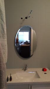 Brand New Bathroom Vanity Mirror/ Medicine cabinet, bulbs