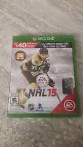 Jeux Xbox One NHL et Battlefield