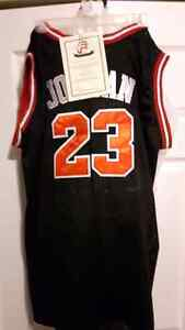 AUTHENTICATED SIGNED MICHAEL JORDAN JERSEY