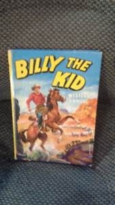 vintage (rare) 1950s billy the kid hard cover