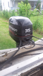 Johnson 1995 35 HP Outboard Engine