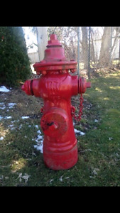 Wanted old fire hydrant