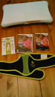 Wii Fit plus board and Zumba DVD
