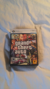 GTA IV PC - All posters and manuals included