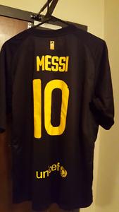 Qatar foundatiom Messi #10 SOCCER jersey