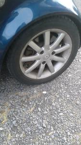 Mag smart fortwo avec pneu