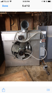Industrials nature gas shop heater