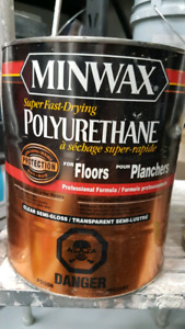Fast drying clear semigloss polyurethane