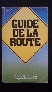 Guide de la route