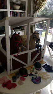 Horses and Stable