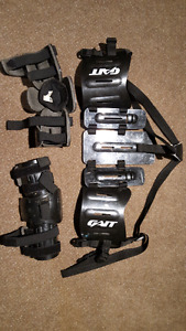 GAIT lacrosse kidney pads and elbow pads
