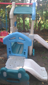 Little Tikes Clubhouse and Swingset Extension