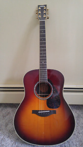 Yamaha LL6 ARE acoustic/electric guitar