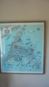 LARGE PICTURE OF THE PROVINCE OF NEWFOUNDLAND