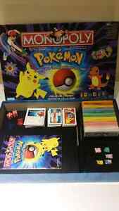 Pokemon monopoly collectors edition