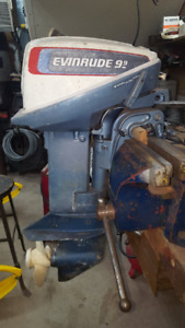1976 9.9 HP Evinrude .. Looking for a 15 HP OMC