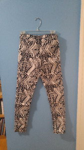 Aztec Print Pants