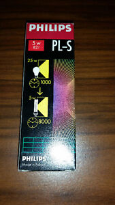 Philips PL-S 5w/827/2p Alto Single Tube 2 Pin Base Compact Fluor London Ontario image 2