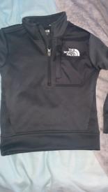 Boys North face hoodies xs