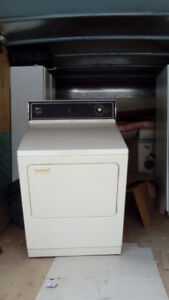 Watrous-Maytag matching washer dryer + Whirlpool stove