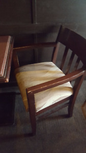 dining chairs from a restaurant