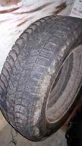 2 pneus hiver 195/65/15 rims 5x112