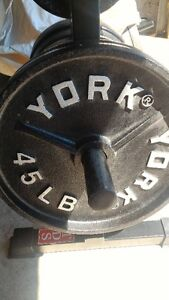 Deep DisH YorK Olympic Plates gym weights exercise
