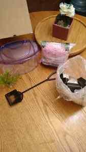 fishy accessories ~$10 FIRM Kitchener / Waterloo Kitchener Area image 1