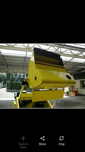 Karcher Street sweeper / parking lot sweeper! No dust! Reduced!!