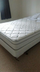 Queen size mattress for sale with box spring