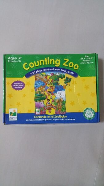Counting zoo floor puzzle