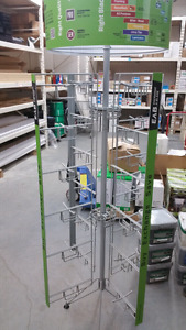 Spinning display rack for sale