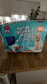Puppy training pads freebies