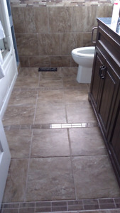 4 boxes of tile and mortar