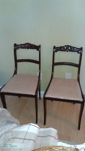 Refinished Antique Chairs