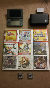 New Nintendo 3ds XL Console, Games, & Accessories