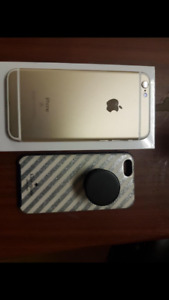 Mint condition iPhone 6s 128gb bell/ virgin