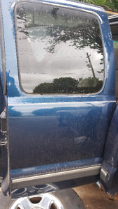 driverside rear door for a 99-06 chev or gmc extended cab truck