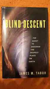 BLIND DESCENT, QUEST TO DISCOVER ..., Hard Cover, by Tabor, 2010