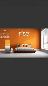 Rise and Shine with *RISE MATTRESS* FREE DELIVERY IN CANADA!!