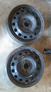 2 Used 14 Inch Rims