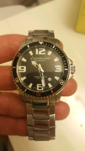 Swiss movement pro diver watch